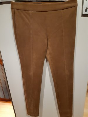 Sa.Hara Stretch Trousers brown red polyester