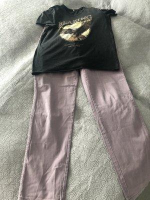 Brax Pantalone cinque tasche rosa antico