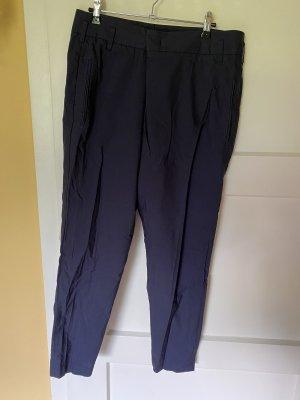 Brunello Cucinelli Pantalone chino blu scuro