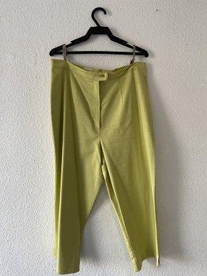 Hose Bundfaltenhose von C&A gelb senfgelb