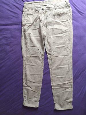 Timezone Pantalon taille basse gris clair