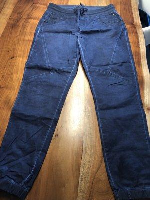 Street One Trousers dark blue