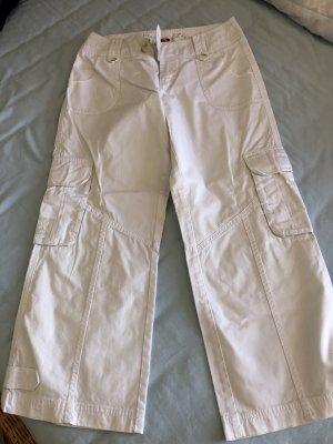 Esprit Pantalon 3/4 blanc