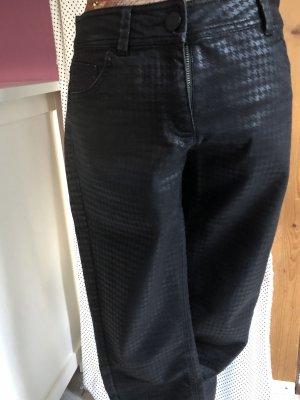 s.Oliver Lage taille broek zwart