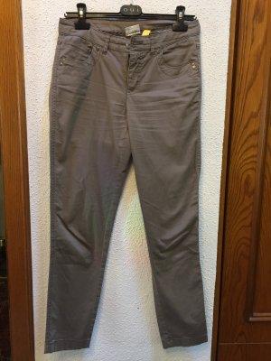 Street One Pantalon cinq poches gris brun