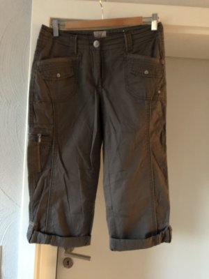 Cecil 3/4 Length Trousers brown-light brown