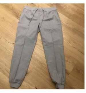 Jake*s Pantalon large argenté-gris clair
