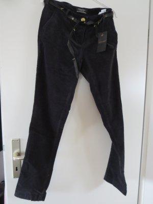 Maison Scotch Pantalone chino blu scuro-nero Cotone