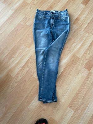 Closed Pantalone elasticizzato azzurro