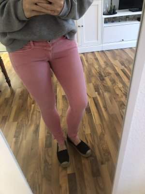Closed Low-Rise Trousers multicolored