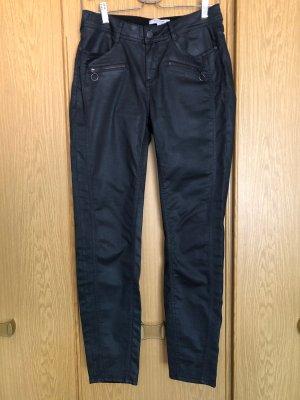 Comma Pantalone elasticizzato nero Cotone