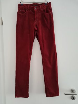 Angels Corduroy Trousers bordeaux