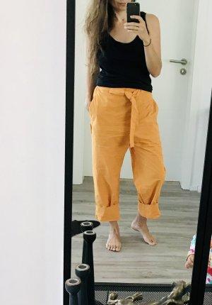 COS Pantalon boyfriend orange-orange clair