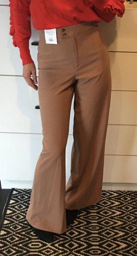 Topshop Pantalon taille haute multicolore