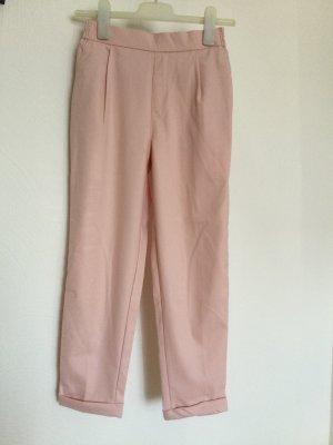 Pull & Bear Falda pantalón de pernera ancha rosa