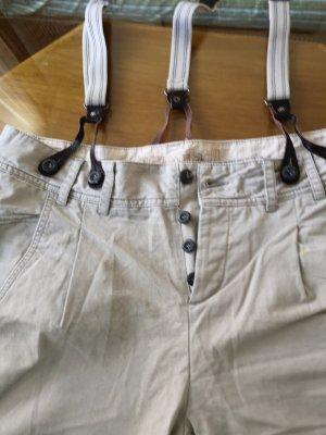 Pantalone peg-top grigio chiaro