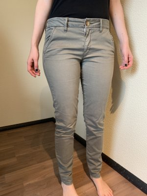 American Eagle Outfitters Stoffen broek veelkleurig Katoen