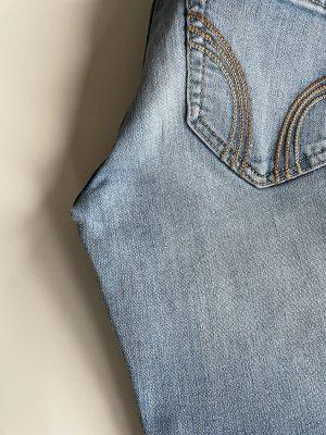 Hollister Jeansy z wysokim stanem błękitny