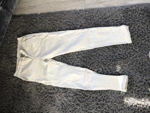 Jeans baggy blanc cassé
