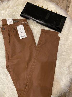 Mango Pantalón de campana marrón