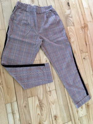 Pantalone peg-top multicolore Cotone