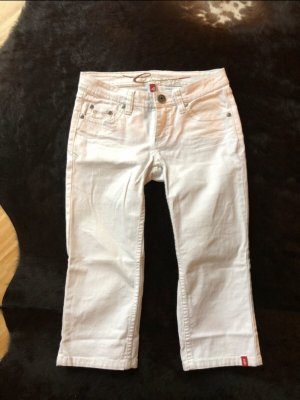Edc Esprit Pantalon 3/4 blanc