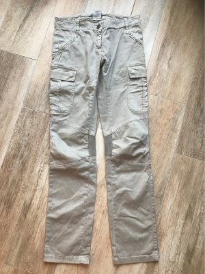 Aeronautica Militare Pantalone cargo beige chiaro