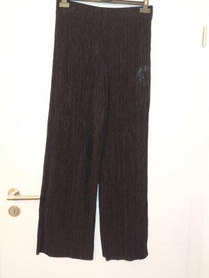 Zara Pantalón de campana negro