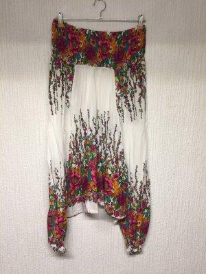 Pantalone largo multicolore