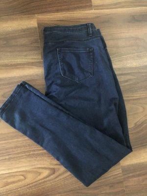 Denim Co. Drainpipe Trousers dark blue