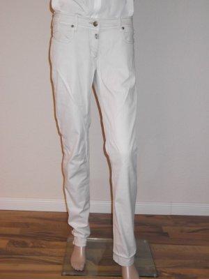Timezone pantalón de cintura baja beige claro Algodón