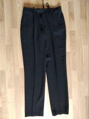 Dinomoda Pantalón de lana negro