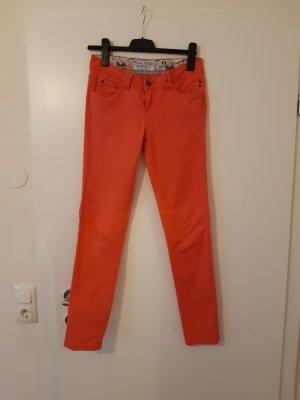 Fresh made Spodnie materiałowe różowy