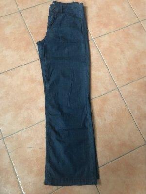 s.Oliver Black Label Pantalón anchos azul oscuro