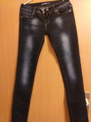 Goodies Jeans a sigaretta blu scuro