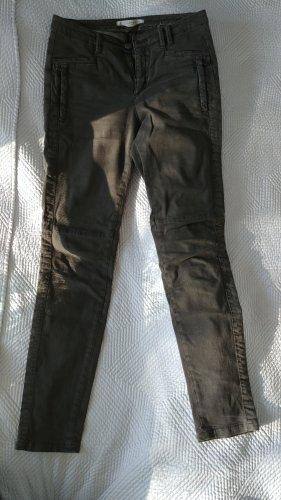 Thomas Rath Pantalón elástico gris verdoso