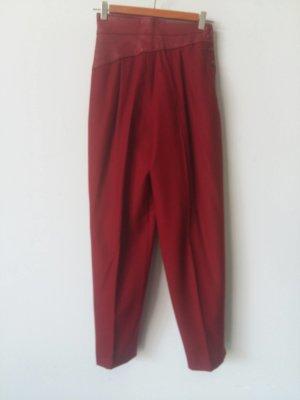 Jaques Molko Paris Peg Top Trousers red cotton