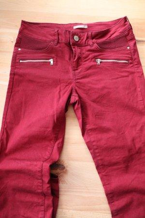 Orsay Pantalon fuselé bordeau