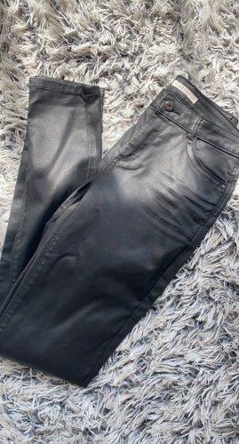 Esprit Skórzane spodnie czarny