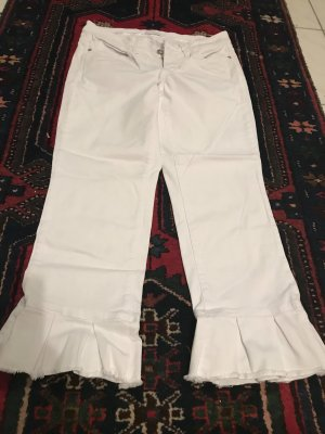 Cambio 7/8 Length Trousers white