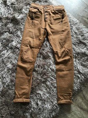 Pantalón de cinco bolsillos coñac