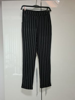 New Look Jersey Pants white-black