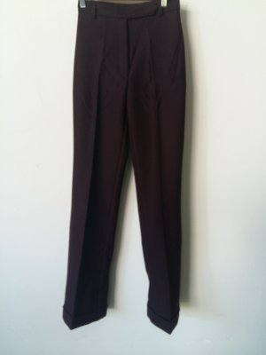 Replay Pantalone di lana bordeaux Lycra