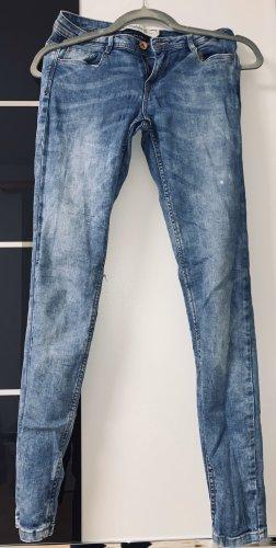 Zara Pantalon taille basse gris ardoise