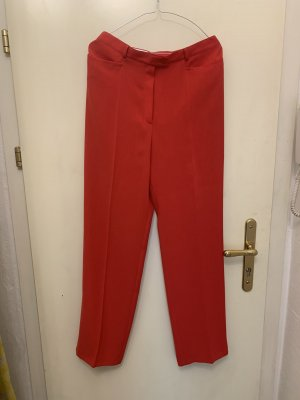 Basler Pantalon à pinces rouge
