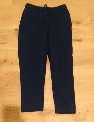 Opus Pantalon chinos bleu foncé