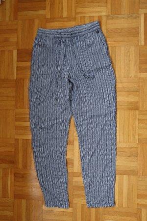 Esprit 7/8 Length Trousers dark blue-white