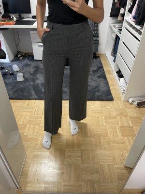 Esprit Pantalon à pinces gris-blanc