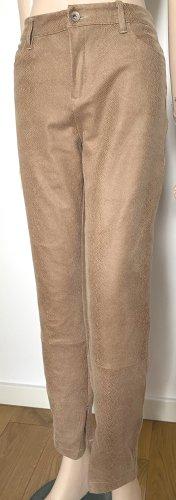 Esprit Pantalon cinq poches beige-crème polyester