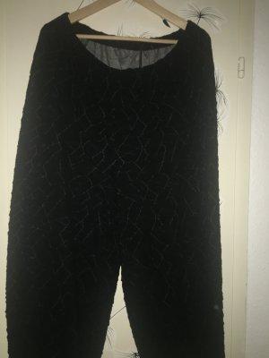 Vetono Pantalon fuselé noir viscose